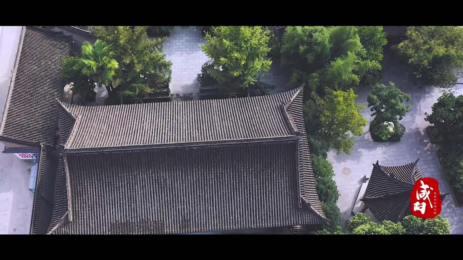 【西部國際商貿城·微視頻大賽作品304】航拍咸陽博物院