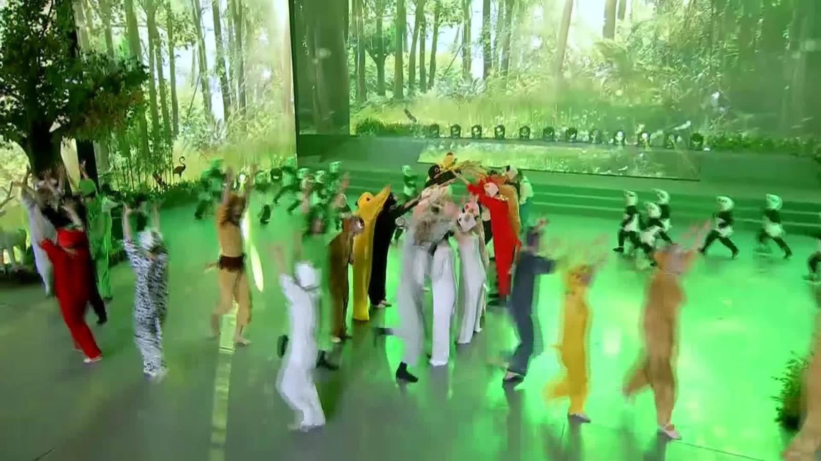 """""""绿色咸阳欢迎您""""节目五《森林交响》"""